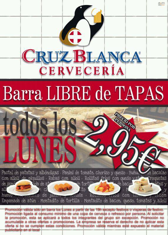 Cruz Blanca Tapas