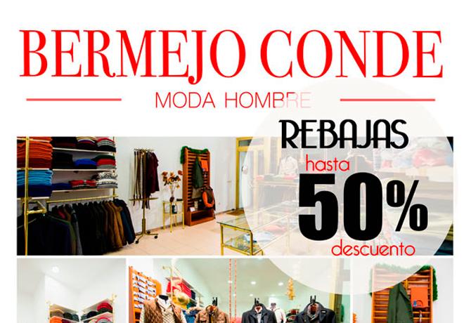 Bermejo Conde Moda Hombre 50%