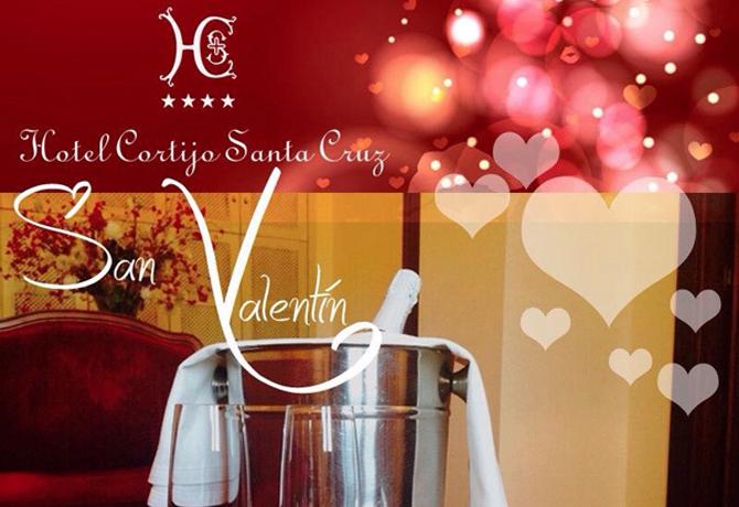 San Valentín en Hotel Cortijo Santa Cruz