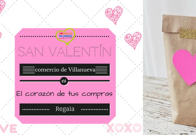 San Valentín Comercio Villanueva