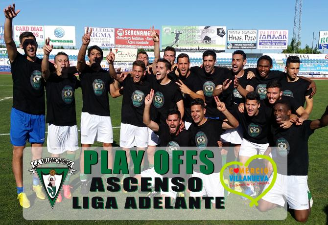 Play Offs Ascenso Liga Adelante C.F Villanovense