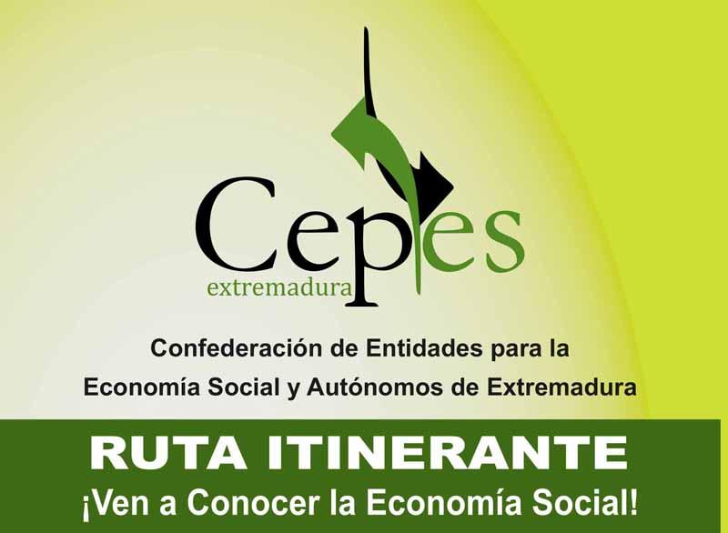 CEPES-Extremadura visitará Villanueva de la Serena dentro de su Ruta Itinerante para fomentar el autoempleo y la integración dentro de la economía social.