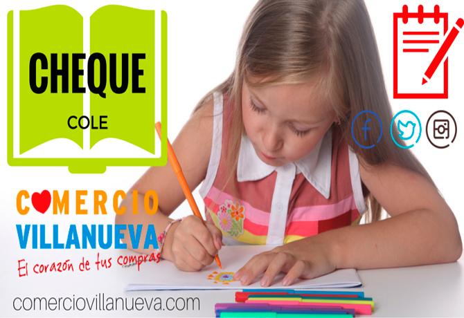 Cheque Cole Comercio de Villanueva