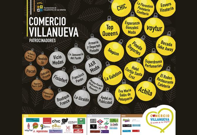 ACCIONES CAMPAÑA NAVIDAD COMERCIO VILLANUEVA 2015
