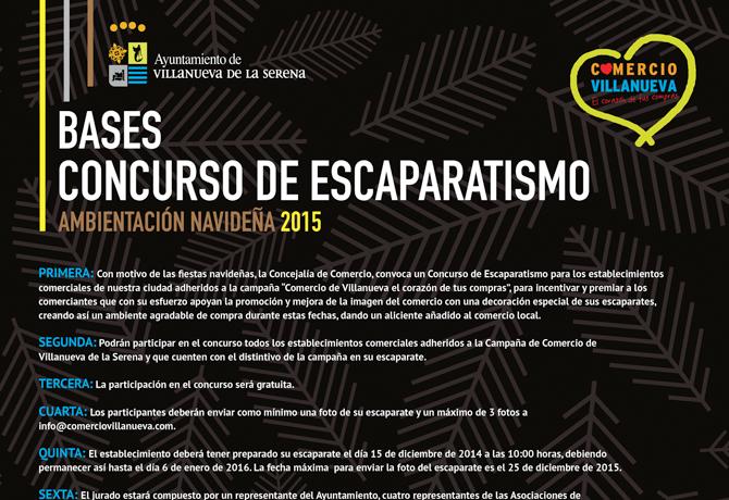 CONCURSO ESCAPARATISMO 2015