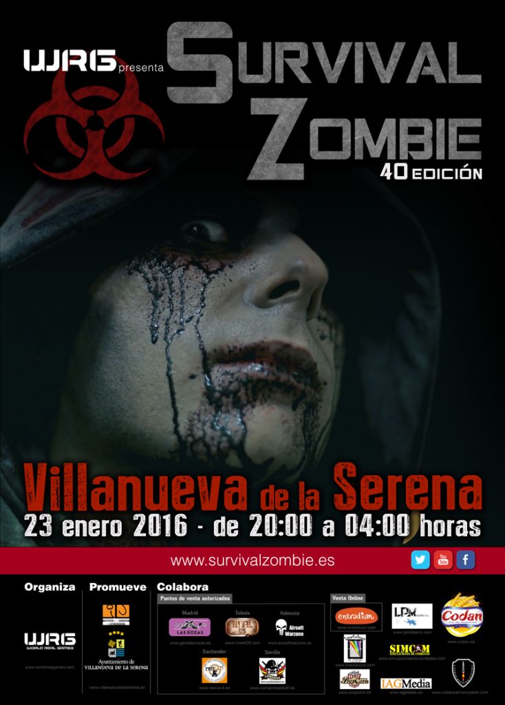 CARTEL SERENA MODIFICADO survival zombie