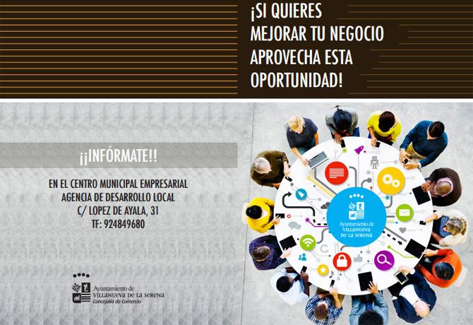 La concejalía de Comercio y Desarrollo Local acerca al sector comercio las líneas de ayudas puestas en marcha por la Junta de Extremadura