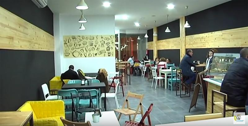 Inauguración Sweet & Coffee en la Plaza de España
