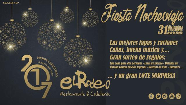 Gran Fiesta Noche Vieja El Rodeo Restaurante