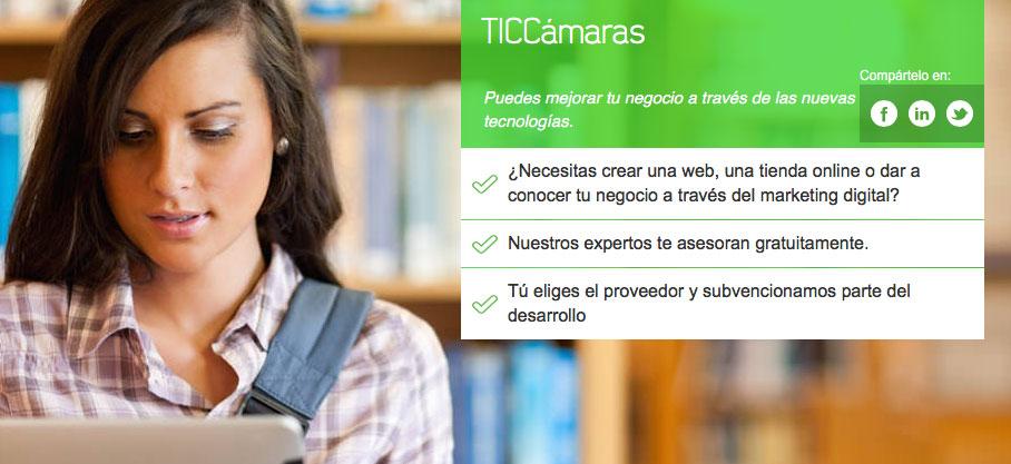 Convocatoria TIC CAMARAS