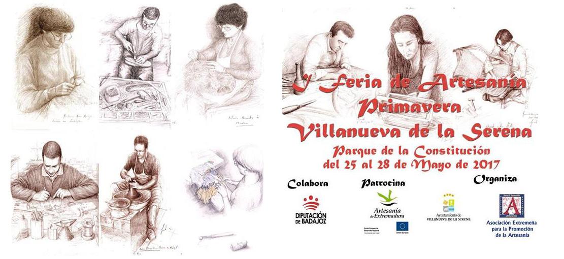 I Feria de Artesanía Primavera Villanueva de la Serena