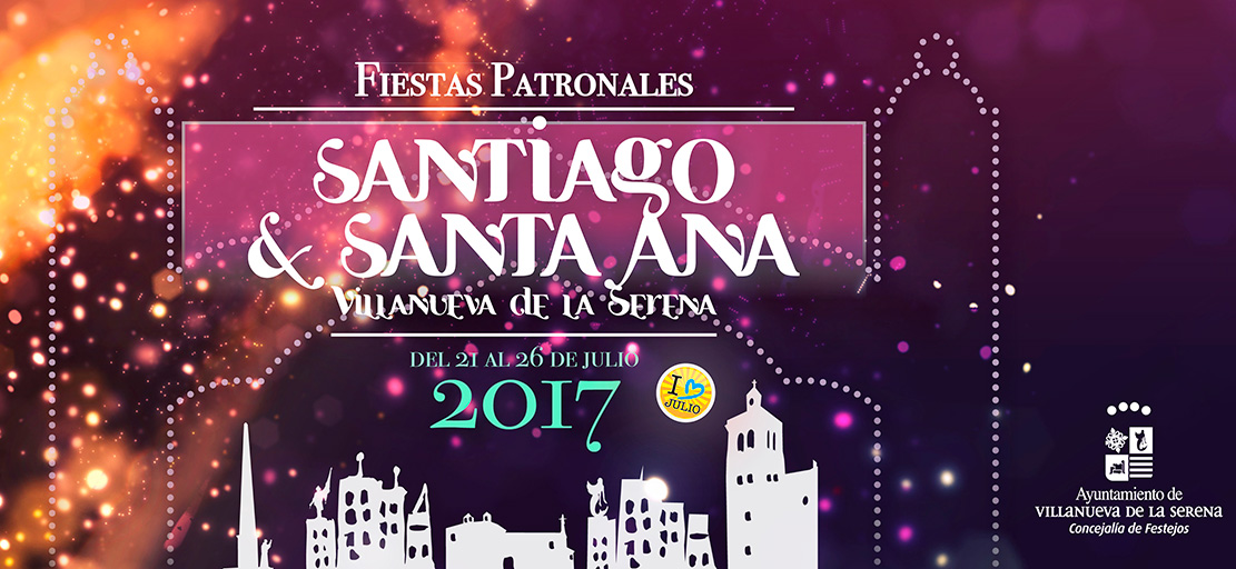 Fiestas Patronales Santiago y Santa Ana 2017