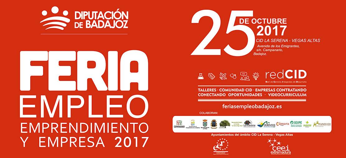 Feria de Empleo, Emprendimiento y Empresa 2017