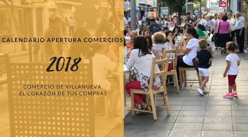 Fijado el calendario de apertura de comercios en festivos del año 2018 en Extremadura