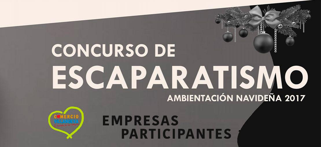 CONCURSO DE ESCAPARATISMO NAVIDAD 2017