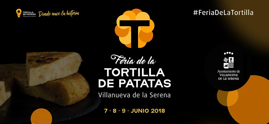 Del 7 al 9 de junio Villanueva de la Serena celebrará la VI Feria de la Tortilla de Patatas