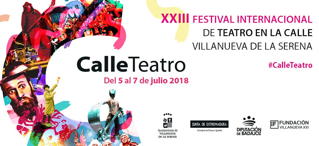 23 Festival #CalleTeatro