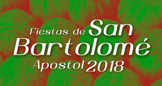 Programación de las fiestas de San Bartolomé 2018