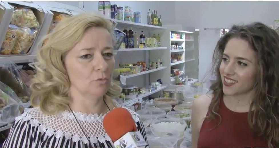 Encuentro Empresas visita la tienda Alimentación El Olvido