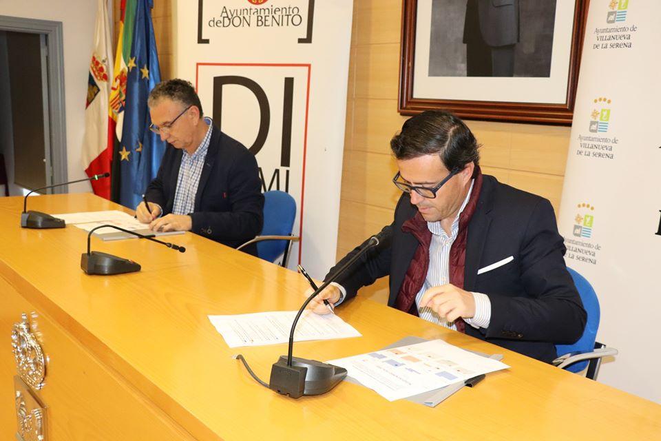 Salir de esta crisis todos juntos y estar al lado de los ciudadanos, objetivo del acuerdo firmado por Gallardo y Quintana