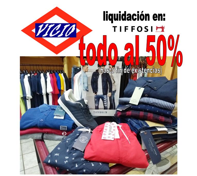 VICIO Tiffosi al 50%